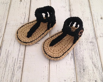 Baby Girl Sandals, Baby Girl Shoes, Crochet Baby Shoes, Baby Sandals, Baby Shoes, Baby Gladiator Sandals, Summer Sandals, MADE2ORDER