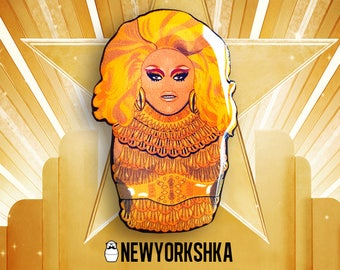 Rupaul AllStars Doll Pin