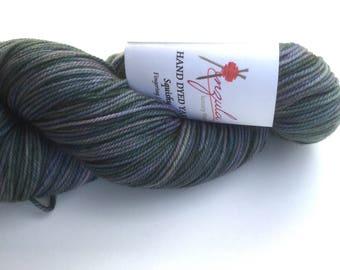 Anzula Squishy  Opal Fingering / Sock weight merino wool