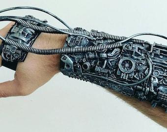 Star trek borg arm, cosplay cyborg costume piece.