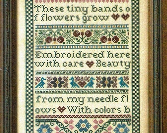 Beauty From My Needle by Milady's Needle Counted Cross Stitch Pattern/Chart