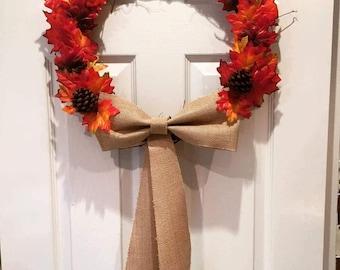 Autumn and Halloween Wreaths