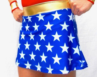 iGlow stars inspired running skirt with compression shorts (Ready for shipping)