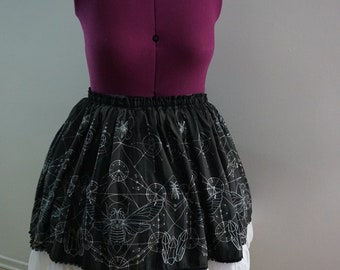 Size 1 *Ready to Ship* Cicadamancy SKIRT Black