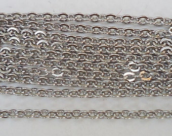 """24"""" Stainless Steel Chains - 24"""" Long x 1.5mm Wide - choose your quantity"""