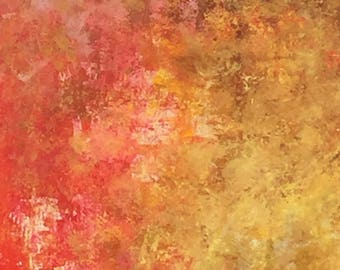 Original Abstract Painting, Visions of Autumn