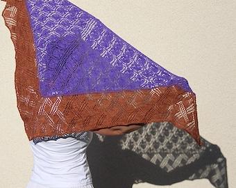 Basket of Flowers- a PDF knitting pattern