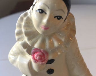 Vintage, Poirrot Music Figurine, Made in Korea for the Gorham Company.