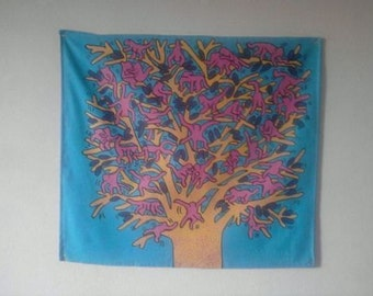 the monkeys tree style keith haring fully lined