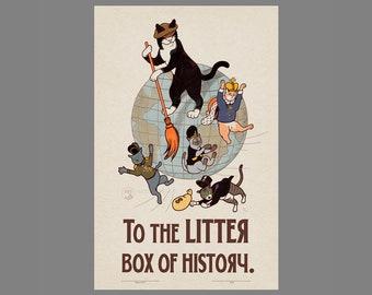 Soviet Cat - Litter Box of History