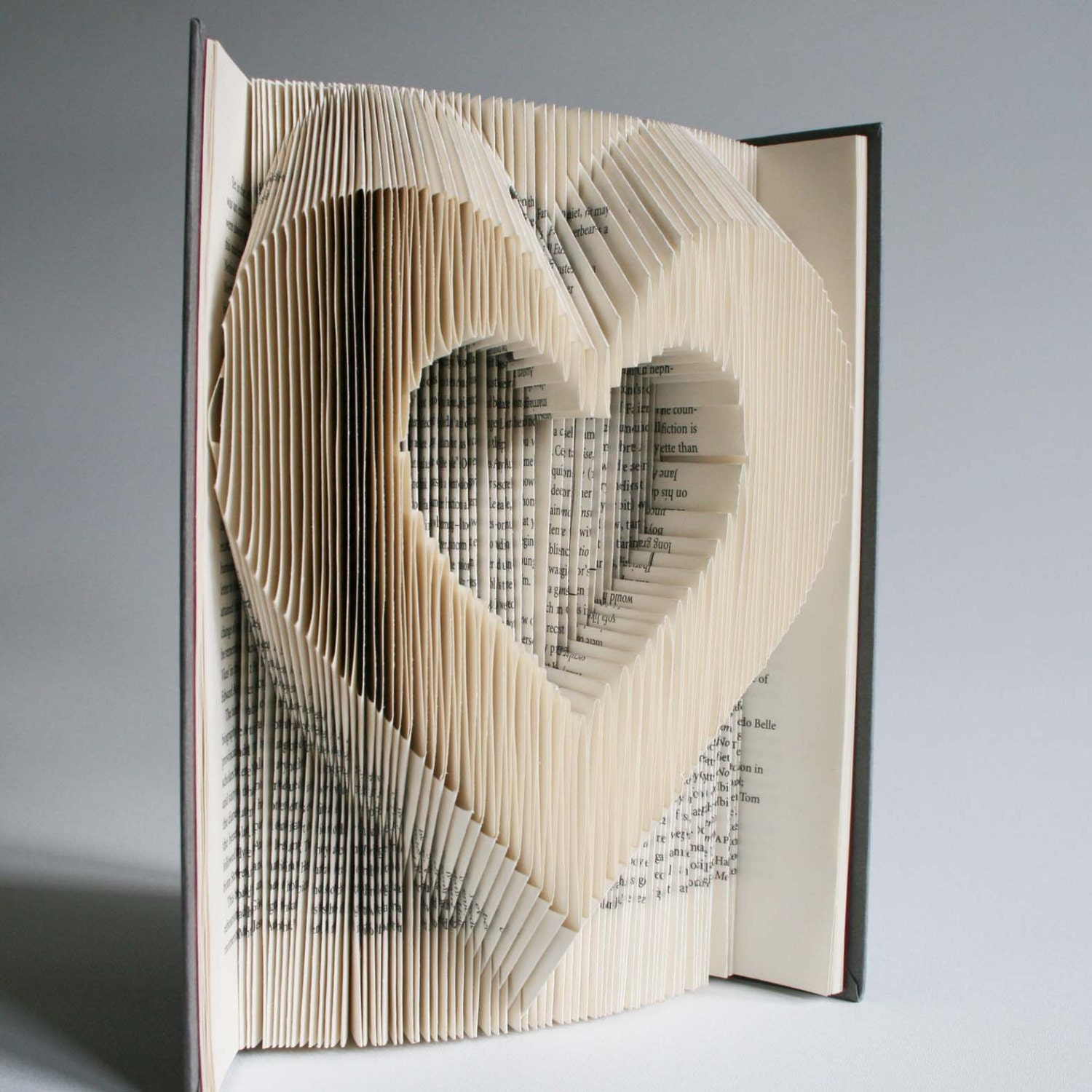 Heart Book Folding Pattern + cuts: Plus free printable downloads ...