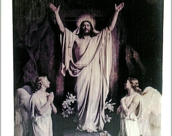 The Resurrection by Carl Bloch // the Resurrection of Jesus // Easter Art