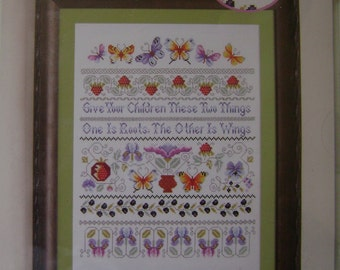 Love Takes Flight Counted Cross Stitch Kit