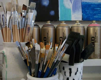 Three Day Intuitive Painting Workshop, In Studio Workshop, Acrylic Painting Workshop, Mixed Media Workshop