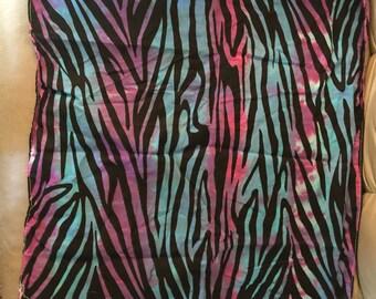 Striped zebra bandana