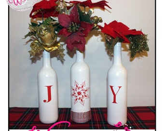Christmas Decorative Bottles