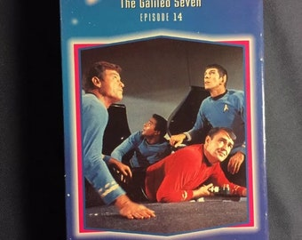 Star Trek, épisode 14 la Galileo sept VHS du film série télé 1993 libération Sci Fi