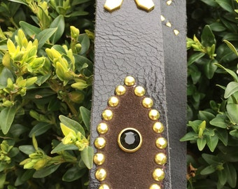 New!!!!one off custom studded belt ! Size is Open !