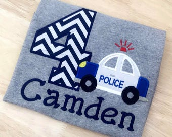 Cop Police Birthday Shirt!!