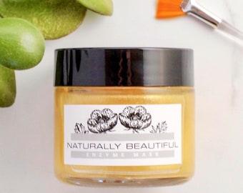 Brightening Enzyme Peel Mask - Facial Mask - Natural Skincare - Exfoliating Face Mask - Papaya - Lactic Acid