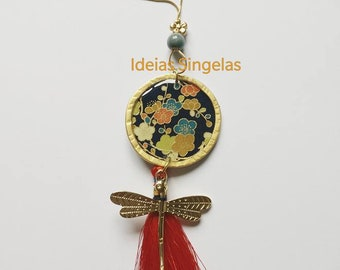 Dragonfly Oriental Garden Necklace