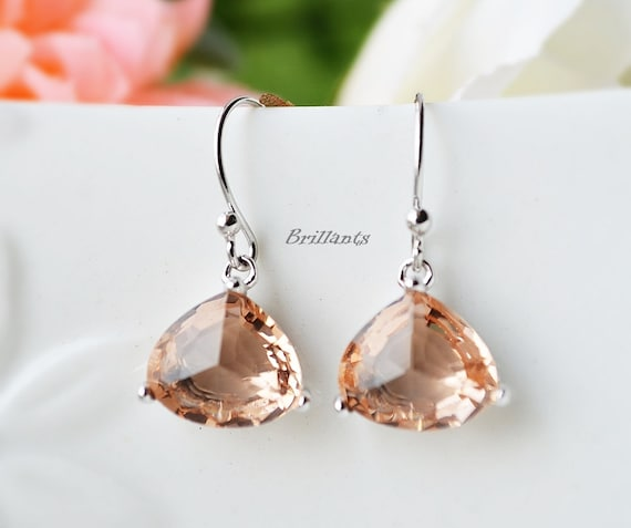 m jewelry listing peach poshmark earrings merona