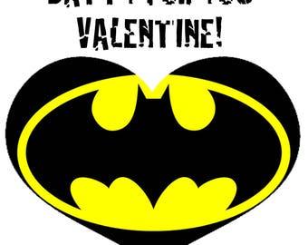 Batman Valentine's Cards