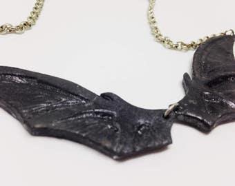 Bat Goth Necklace