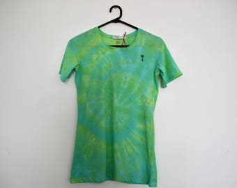 Green Palm Tree Dyed T-shirt