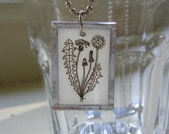 Dandelion Pendant, plastic