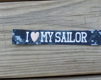 Navy NWU Type I Custom Name Tapes Military Name Tape or Name Patch Embroidered