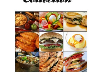 Now On SALE! Super Cookbook Collection! 100 Cookbooks on CD ebooks Thousands of Recipes!