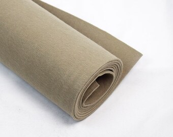 3mm Thickness beige Felt Fabric Polyester Handcraft Material Fabric