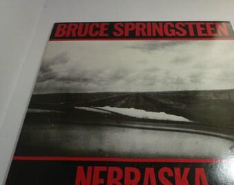 Bruce Springsteen vinyl LP Nebrasca