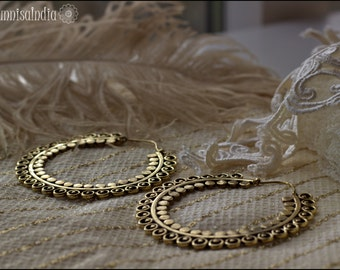 DISCOUNT -> 28/04 Big Brass Hoops
