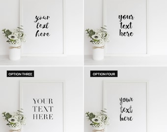 Custom Print - Custom Quote Print - Custom Quote Print - Bespoke Quote Print  - Personalised Print - Typography Quote Print - Bespoke Print