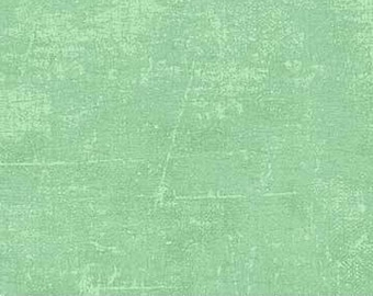 Seafoam/Mint Green Blender Canvas Print COTTON Fabric  [[by the half yard]]