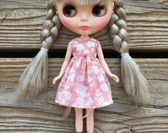Soft Rose Floral Blythe Dress
