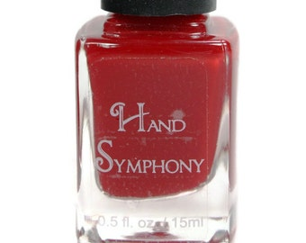 Ollie Attitude-Apple Red Nail Polish,Creamy Red Nail Polish, Red Nail Polish,Polish,5 Free Nail Polish,Best Selling Items,Gift for Her