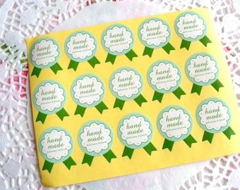 Handmade Sticker, Handmade Label, Cookie Stickers, Packaging Stickers, Product Stickers, Handmade Tag, Cookie Packaging, Handmade 45 pcs