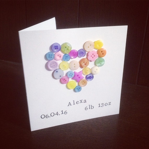 Personalised New Baby Card