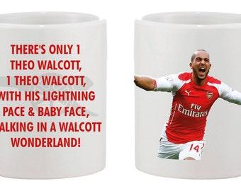 Theo Walcott Arsenal Mug