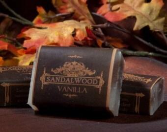 Soap Bars - Sandalwood Vanilla