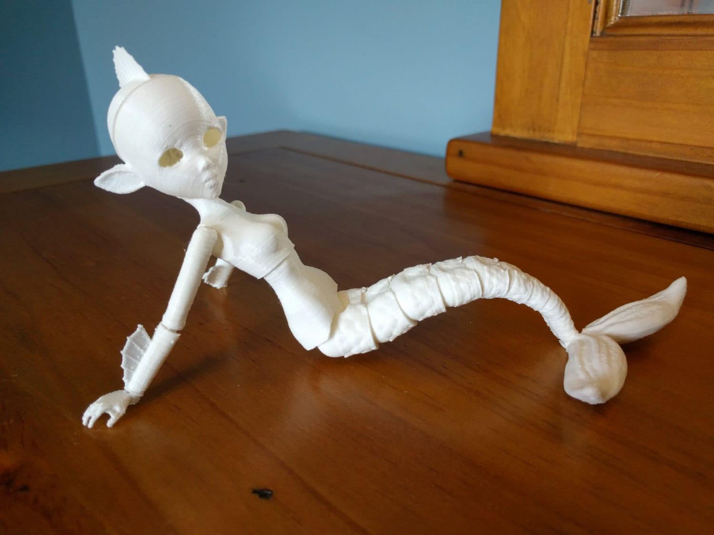 Well known 3D Printed BJD Adult Mermaid Creator Kit QS24