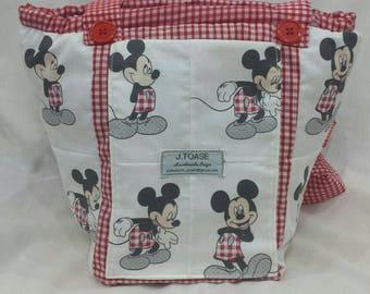 Mickey Mouse adorable, Vegan Shoulder Bag.