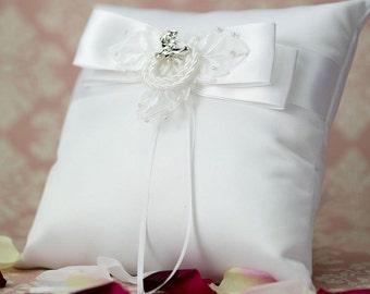 Western Cowboy Lasso Wedding Ring Bearer Pillow - 75118