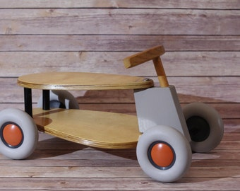 Sirch SIBIs Flix Birch Wood Ride-on Children's Push Car Toy Made in Germany