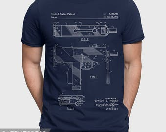 Mac-10 Uzi Gift For Gun Lover, Gun Show T-Shirt Gift For