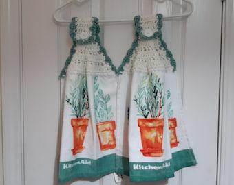 Dish towels sold in pairs 5.00 per pair