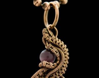 Wire Woven Pendant